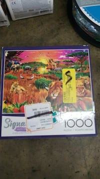 New thousand piece puzzle Safari Riverside, 92509