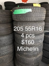 Winter tires 205 55 R16 Toronto, M1V 5G4