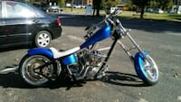 blue and black cruiser motorcycle Cherry Hill, 08002