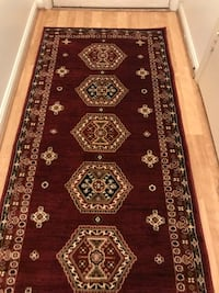 Brand new carpet runner size 3x10 nice red hallway rug rugs