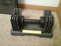 Gold's Gym 25lb adjustable Barbell. Wichita, 67217
