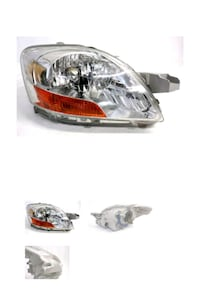 2006-2011 Toyota Yaris Right Halogen Headlamp Riverside, 92501