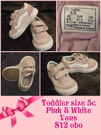pair of white low-top sneakers collage Sanger, 93657