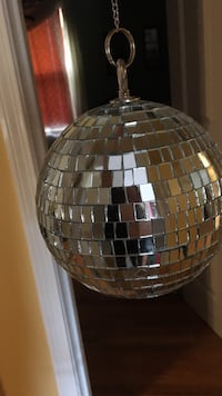 clear crystal glass disco ball keychain Coventry, 02816