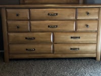 10 drawer dresser W/ Mirror Temecula, 92592