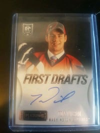 First Drafts Tom Wilson trading card Kitchener, N2B 3H5