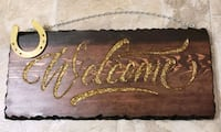 Hand made wood signs . Mississauga, L5N 3A8
