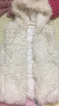 white fur hooded vest San Jose, 95123