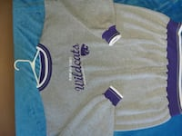 grey and purple Kansas State Wildcats crew-neck sw Hagerstown