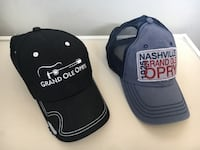 Nashville Grand Ole Opry hats / caps. Never worn - brand new. Selling for $10 each Calgary, T3E 2N8