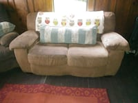brown fabric 2-seat sofa Old Fort, 37362