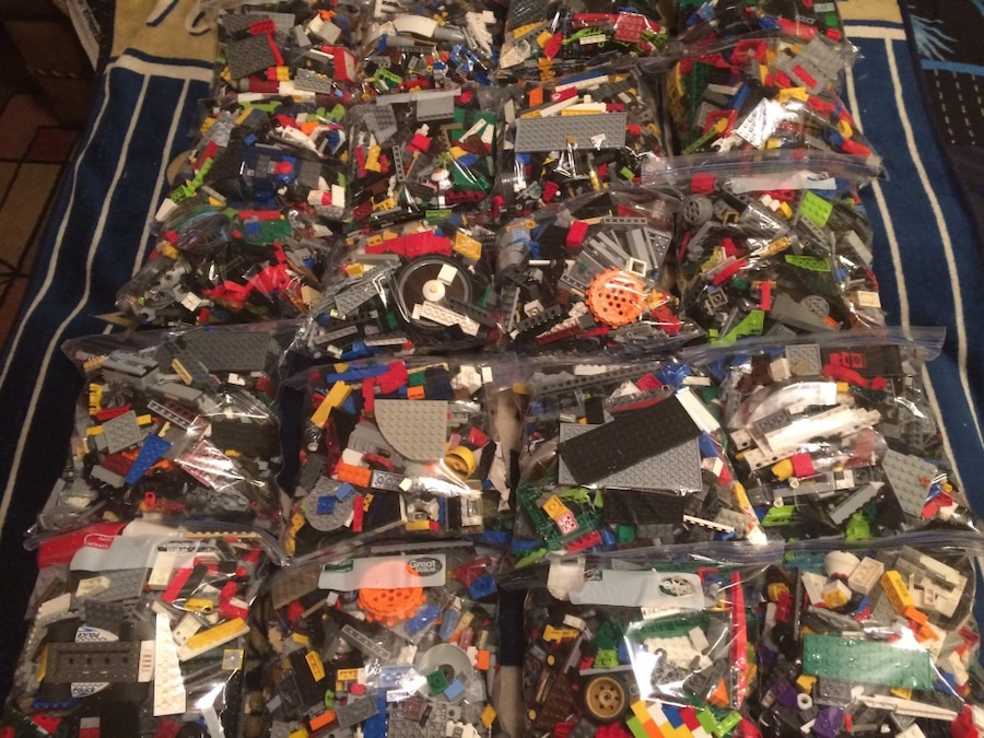 Used bags of mixed legos for sale in marlboro letgo