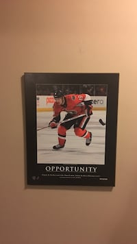 Jason Spezza, inspirational wall plaque Vancouver, V6K