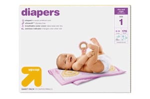 Target Up & Up Diapers - Size 1 - Quanity 167