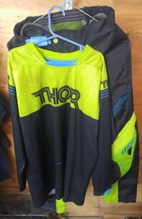 Thor motorcross jersey and pants null