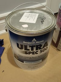 Benjamin Moore interior paint in purple cream Markham, L3P 7A8