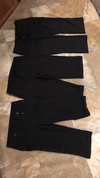 crop  dress pants  size 7 and 2