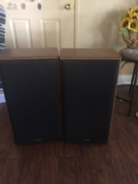 two black wooden 2-door cabinets Kirby, 78219