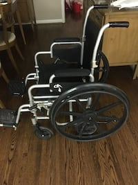 Portable folding wheelchair for adult