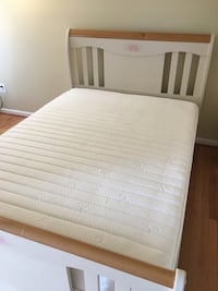 Full size bed frame, mattress and spring box Alexandria, 22315