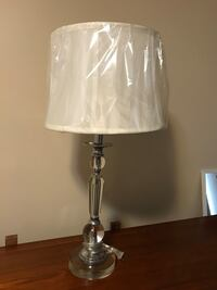White and gray table lamp Edmonton, T5M 1G2
