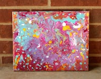 """""""Colors of Crystal"""" acrylic painting  Lubbock, 79416"""