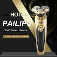 Brand New 2019 Style 4D Floating Rotary Electronic Shaver Mens Razor Detroit