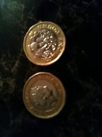 two round silver and gold coins Roseville, 55113
