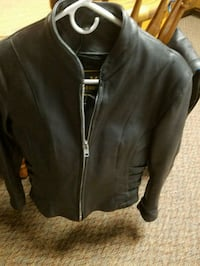 Leather Riding Jacket size small West Newton, 15089