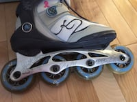 pair of black-and-gray inline skates Repentigny, J6A 1H3