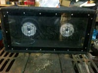 2 10 inch mtx blue thunder subs for 100 bucks . Grimsby, L3M 2A1