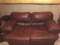 Burgundy couches for sale Calgary, T3K 0T1