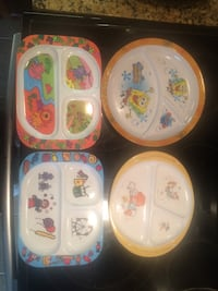 1 New Sponge Bob Kid's Plate + 3 other Kids Plates: $5 for all Ottawa, K2S 0K4