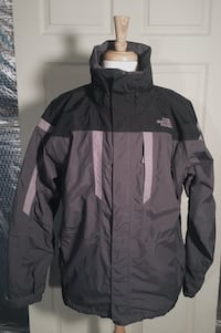 TNF The North Face Jacket Black/Grey. Good condition Woodbine, 21797