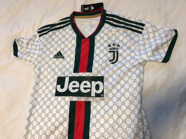 3b889eafc73 Used Rare Juventus x Gucci Concept Jersey for sale in Mississauga - letgo