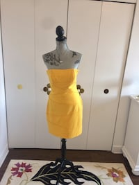 Yallow Dress Cynthia Steffe 10 792 km