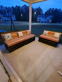 Sofa and loveseat outdoor patio furniture!