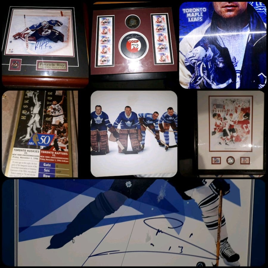 GREAT XMAS GIFTS VARIOUS SIGNED ITEMS