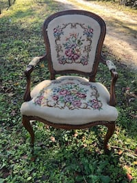 Antique Tapestry Needlepoint Chair  Reddick, 32686