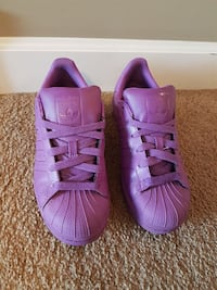 Adidas superstar supercolour size 6 women