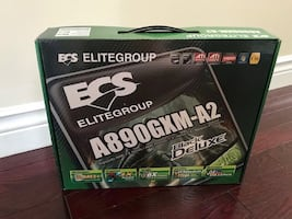 Brand New ECS A890GXM-A2 Black Deluxe Motherboard