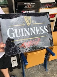 Guinness Beer light up sign Pittsburgh, 15212