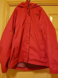 Women's The North Face RED Wind/Rain Breaker Jacket size XL - Great condition Edinburgh