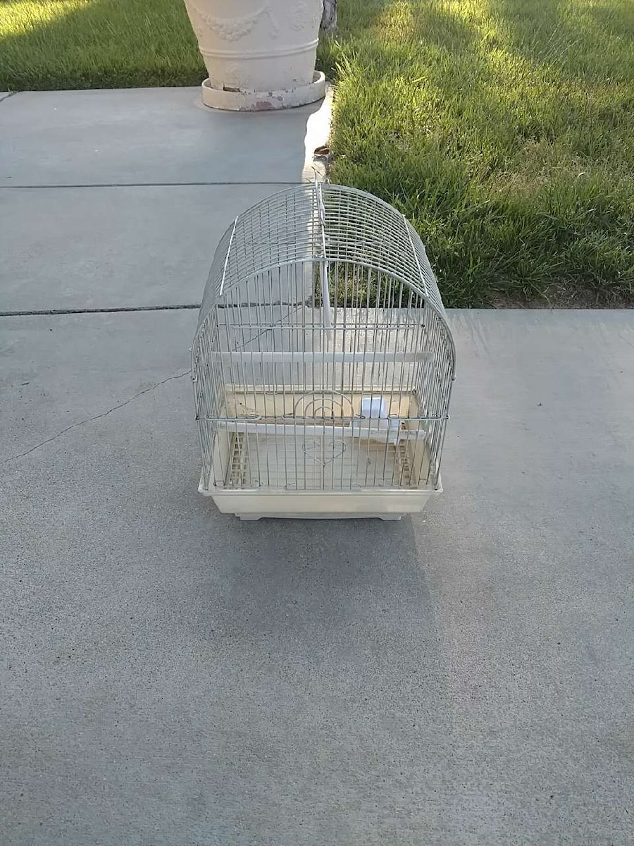 stainless steel bird cage
