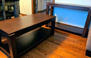 Sofa Table + Coffee Table