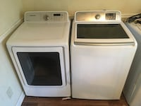 Samsung Top Load Washer and Dryer Set  Riverdale