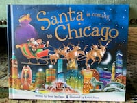 Santa is coming to Chicago book