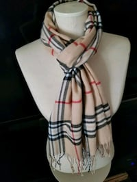 Scarves....nice and warm.  Houston, 77057