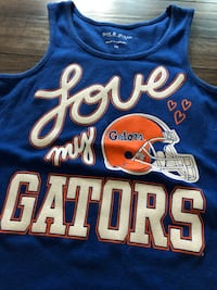 Gators football women's tank top