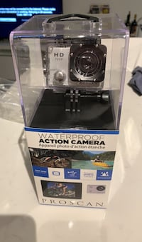 Brand new action camera 720p. Proscan